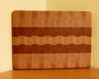 End Grain Cutting Board, Custom Chopping Board, Timber Cutting Board, Chopping Block