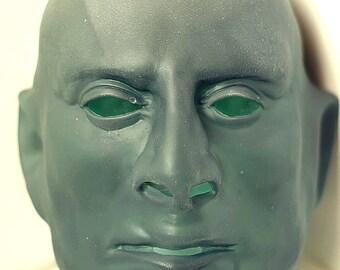 Fantomas mask from the movie Fantomas Halloween mask Creepy mask Scary mask