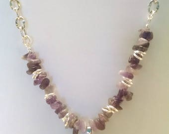 Amethyst Splendor Necklace