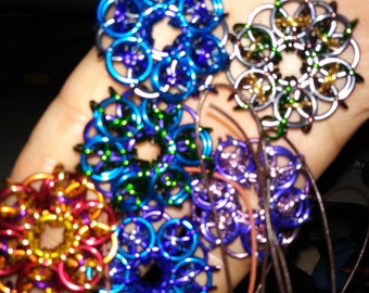 AA chainmaille pendants