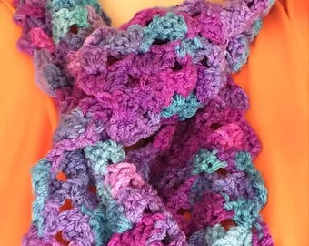 Purple/Blue Winter Scarf