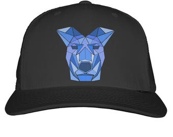 Doggy Snapback Trucker Cap