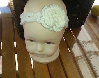 Crocheted Newborn Headband