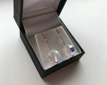 Sterling Silver Aurora Borealis Earrings