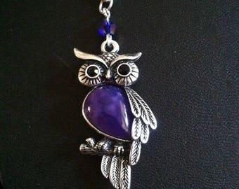 Double strand purple owl