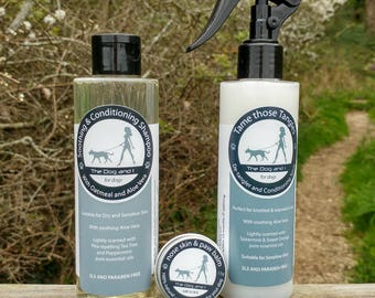 Tame Those Tangles, Handmade Conditioning and Detangling Spray for Dogs