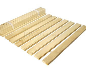 Wooden Bed Slats - King Size 152cm - Free Delivery - from 12 to 18 slats