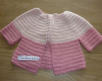 vest girl pink