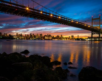 Sunset from Astoria Park, New York City