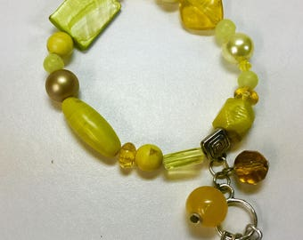 Yellow brecelet