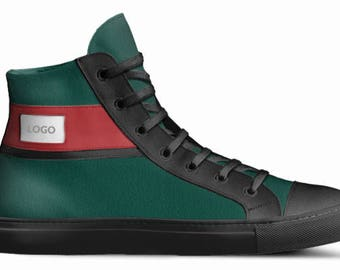 Green (Red/Black) RBG Canvas Sneakers
