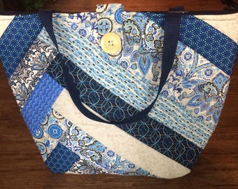 Handmade Quilted Tote