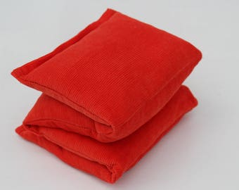 Wheat Heat Pack/Bag-4 Sectioned Orange