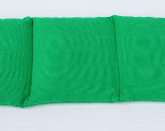 Wheat Heat Pack/Bag-3 Sectioned Green