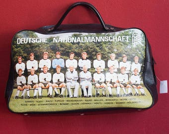 Original 70's Fake Leather SportBag Deutsche Nationalmannschaft