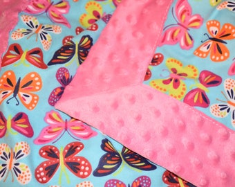 Snuggly Butterfly Blanket