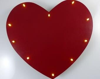 Snooze lamp Wall lamp heart