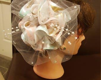 Girls flower hair clip