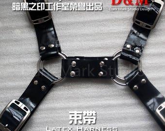 DarkMark Rubber Latex Harness Handcraft