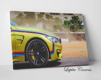 Car Print, Memory, Canvas Print, Canvas Art , Canvas Gift, Custom Canvas, Wrapped Art, Lifestyle, Car Design