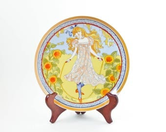 Plate of Louis Payen, number 1 of the world's children Unicef Collection