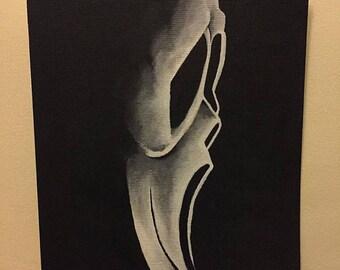 Original Artwork Horror Painting