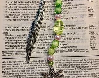 Dragonfly Charm Bookmark