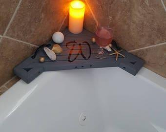 Custom Wood Bath Tray