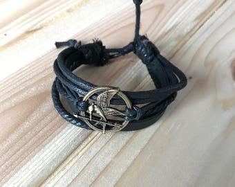 Hunger Games Leather Bracelet