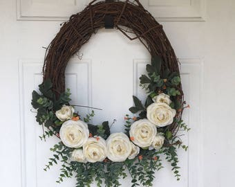 Whimsical Summer Wreath