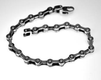 Chain bracelet, silver