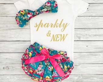 Baby Girl Outfits, Baby Girl Coming Home Outfit, Newborn Girl, Newborn Girl Clothes, Baby Girl Clothes, Newborn Clothing, Newborn Baby Girl