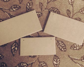 Bundle of 30 blank plaques
