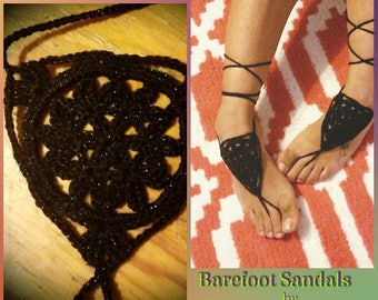 Cosmic Traveller barefoot sandals *made to order*