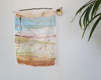Sun Ra silk wall hanging- Small