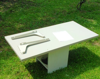 Solid workspace table top to size