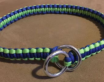 Paracord Dog Choker Collar-Custom