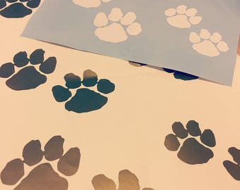 ClawsAndPawsLovers Puppy And Kitty Paw Print Vinyl Decals!!