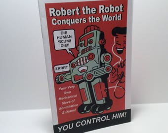 Robert the Robot Conquers the World Mini Comic