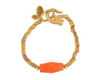 Thebe Carnelian Bracelet - Final Sale