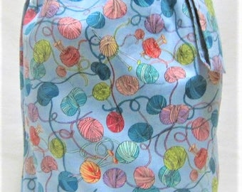 NEW - Sock Knitting Project Bag