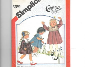 Simplicity  Toddlers' Dress Pattern 6183