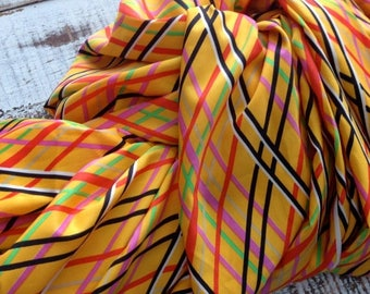40% OFF- Retro Silky Polyester Fabric