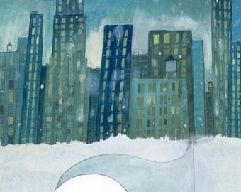 Sweetest Slumber - Signed Art Print