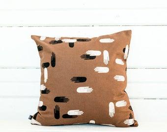 Pillow—Las Manos Print