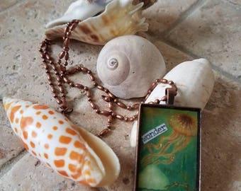 Wonder Jellyfish necklace