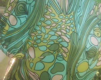 Green Floral Shift sz 4 by im.butterflycreations