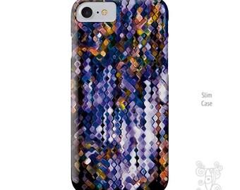 iPhone 7 Case, iPhone 7 plus case, purple iPhone 7 case, iPhone 6 case, iPhone 5S case, iPhone 6s case, iPhone 6 plus case, iPhone case, art