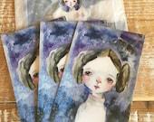 Princess Leia postcard - set of 3