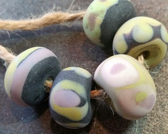 Lampwork Beads NATURALS Two Sisters Designs 030417Q